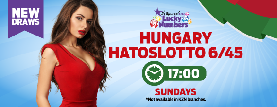 Hungary Hatoslotto 6/45 - Lucky Numbers - Hollywoodbets - Betting - Results