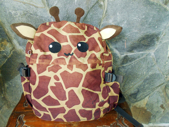 DIY Kawaii Animal Backpack - Giraffe