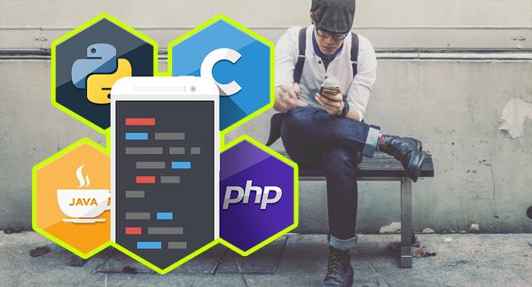تطبيق يوفر لك أزيد من 15 لغة برمجية لبدء تعلمها فورا !!