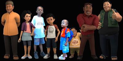 gambar Animasi Adit Sopo Jarwo