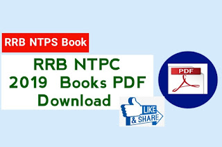 RRB NTPC 2019 Preparation Book PDF
