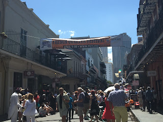French Quarter Fest sign