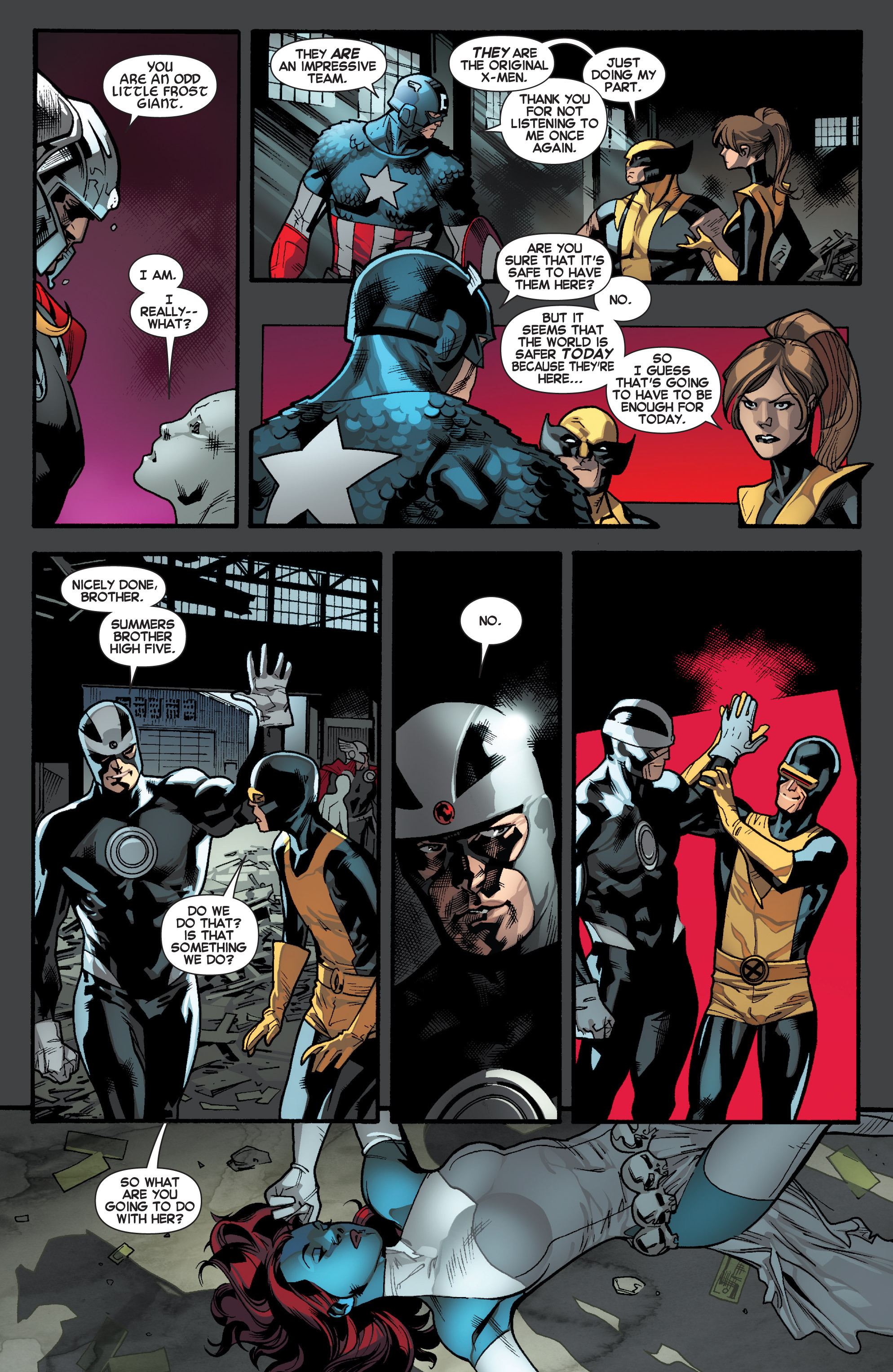 Read online All-New X-Men (2013) comic -  Issue # _Special - Out Of Their Depth - 84