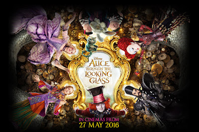 Alice Through The Looking Glass (2016) 720 Bluray Subtitle Indonesia