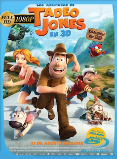 Las Aventuras de Tadeo Jones 2012 HD [1080p] Latino [GoogleDrive] SilvestreHD