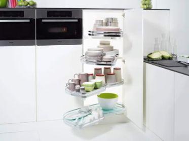 Arredo in sistemi per mobili cucina ad angolo for Mobili arredo cucina