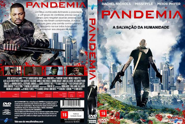 Capa DVD Pandemia