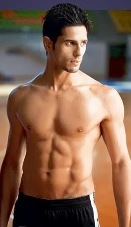Siddharth Malhotra Body Workout