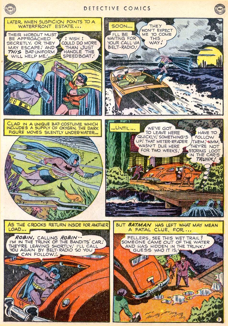 Detective Comics (1937) 165 Page 9