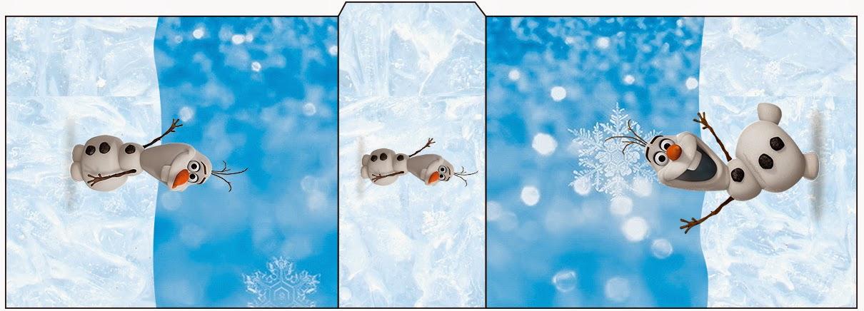 Etiqueta para Tic Tac de Olaf para imprimir gratis.