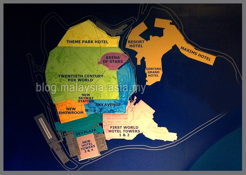 Genting new theme park opening malaysia asia gentings new theme park twentieth century fox world map gumiabroncs Images