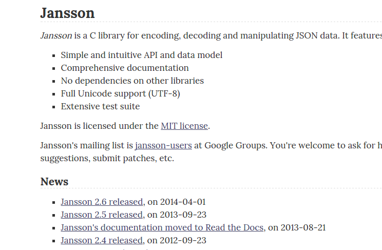 Peter: C: JSON String Generation Using Jansson Library