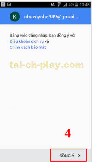 Hướng dẫn đăng nhập vào Ch Play mới nhất 4
