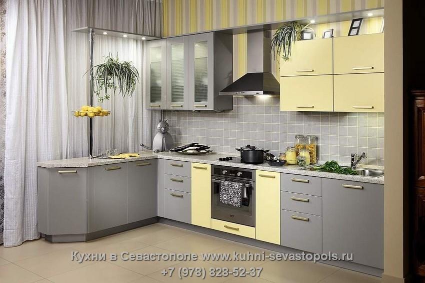 Крашеные фасады из мдф для кухни фото