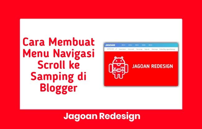 Cara Membuat Menu Navigasi Scroll ke Samping di Blogger