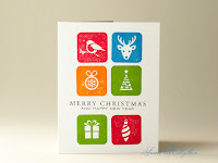 Christmas Card with Christmas Icons from IndigoBlu by Sweet Kobylkin