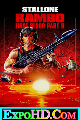 Rambo First Blood Part II _ Dubbed Hindi 480p [Blu-Ray 720p] Esub 650MB || Watch Online