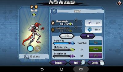 Mutants: Genetic Gladiators Breeding video N°172 (Pycho Boar - Android)