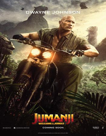 Jumanji Welcome to the Jungle (2017) Dual Audio HDRip 720p
