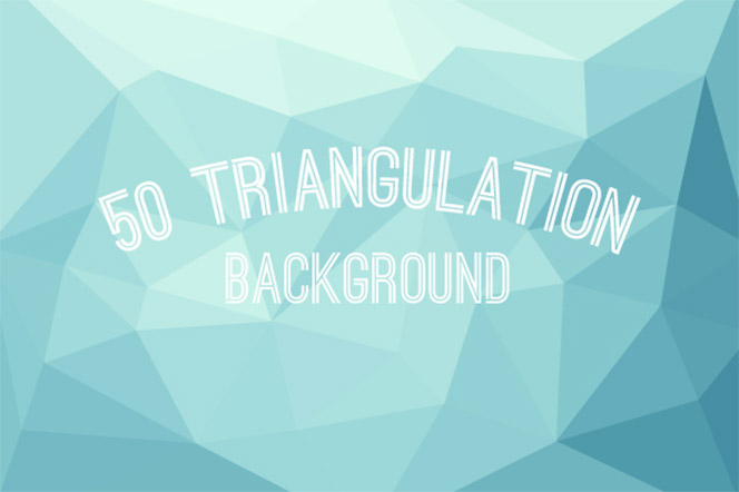 50 Triangulation Background - Garam Dapur