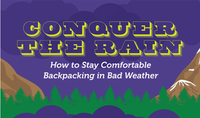 Conquer the Rain: How to Stay Comfortable Backpacking in Bad Weather