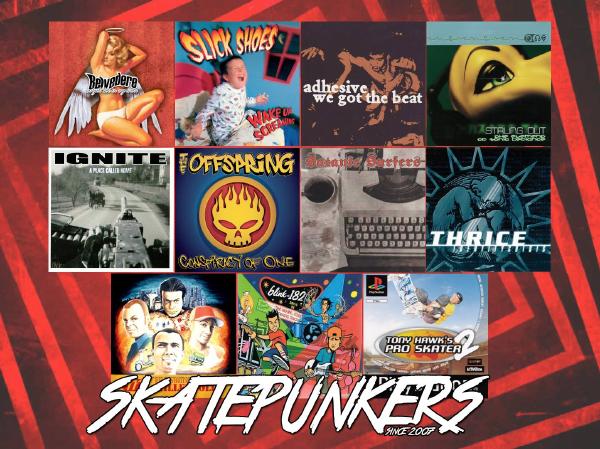 Skate punk albums released in 2000