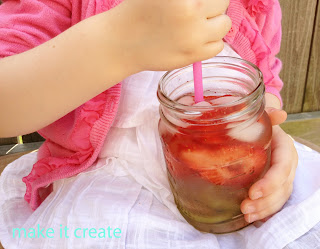 spa water mason jar