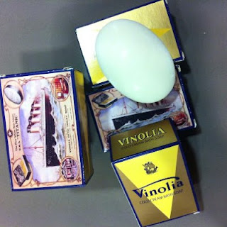 jabón de lujo Vinolia Titanic