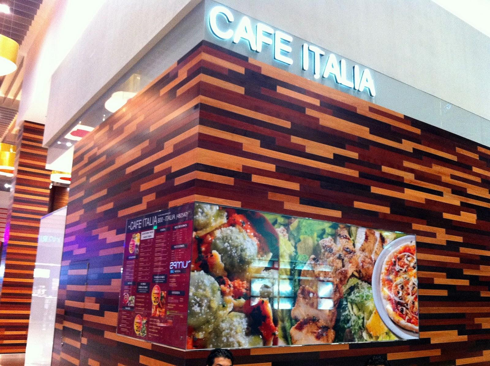 Ihram Kids For Sale Dubai: FoodieFC: Cafe Italia Express At Dubai Mall (UAE, Dubai