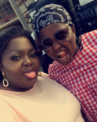 Eniola Badmus and funke Akindele