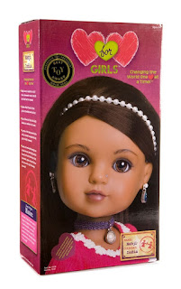 Nahji, dolls from India, cultural dolls, holiday gifts, World Vision, gifts that give back