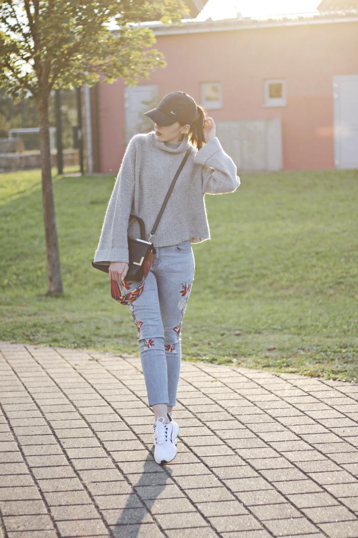 outfit weiße sneaker kombinieren