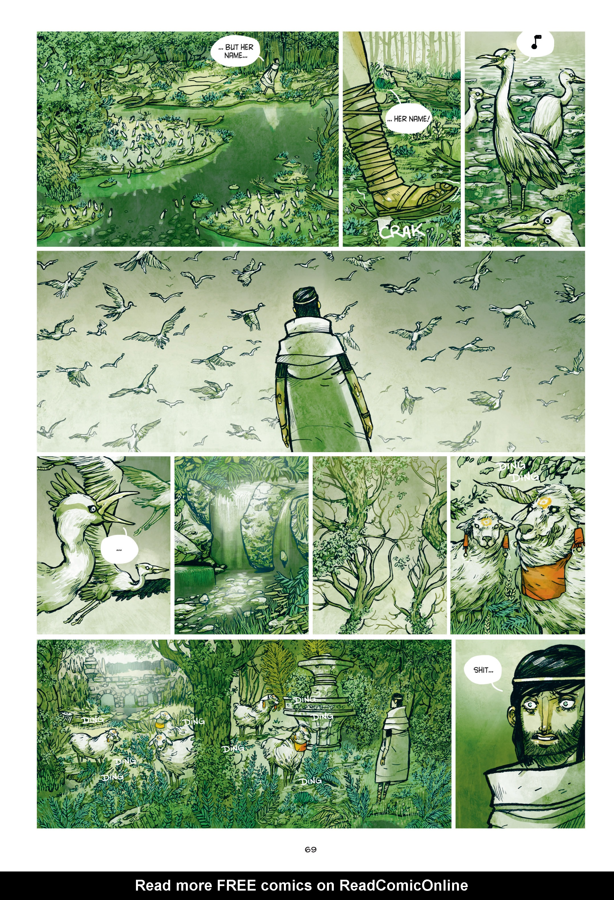 Read online Adrastée comic -  Issue #1 - 70
