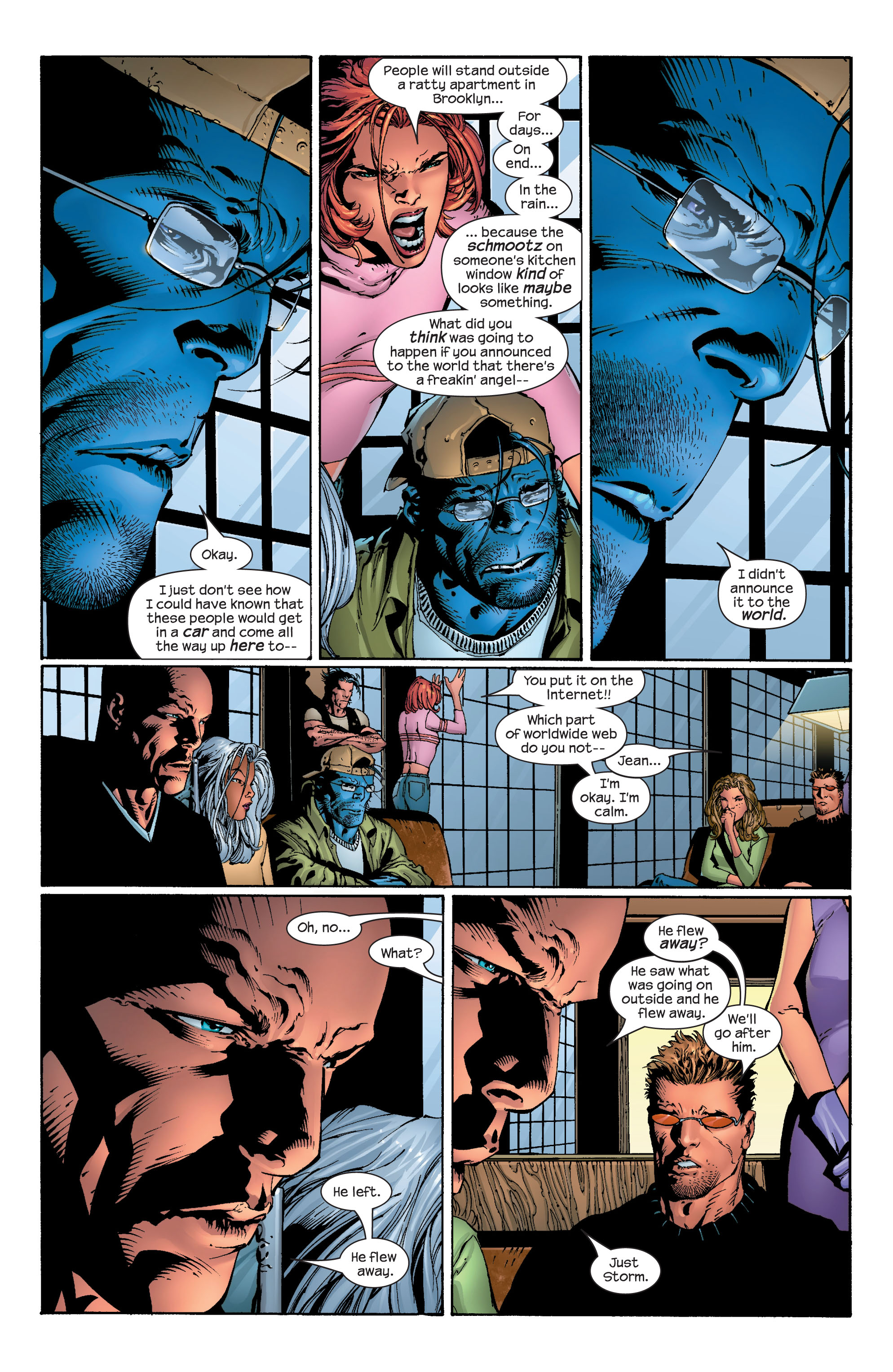 Read online Ultimate X-Men comic -  Issue #40 - 11