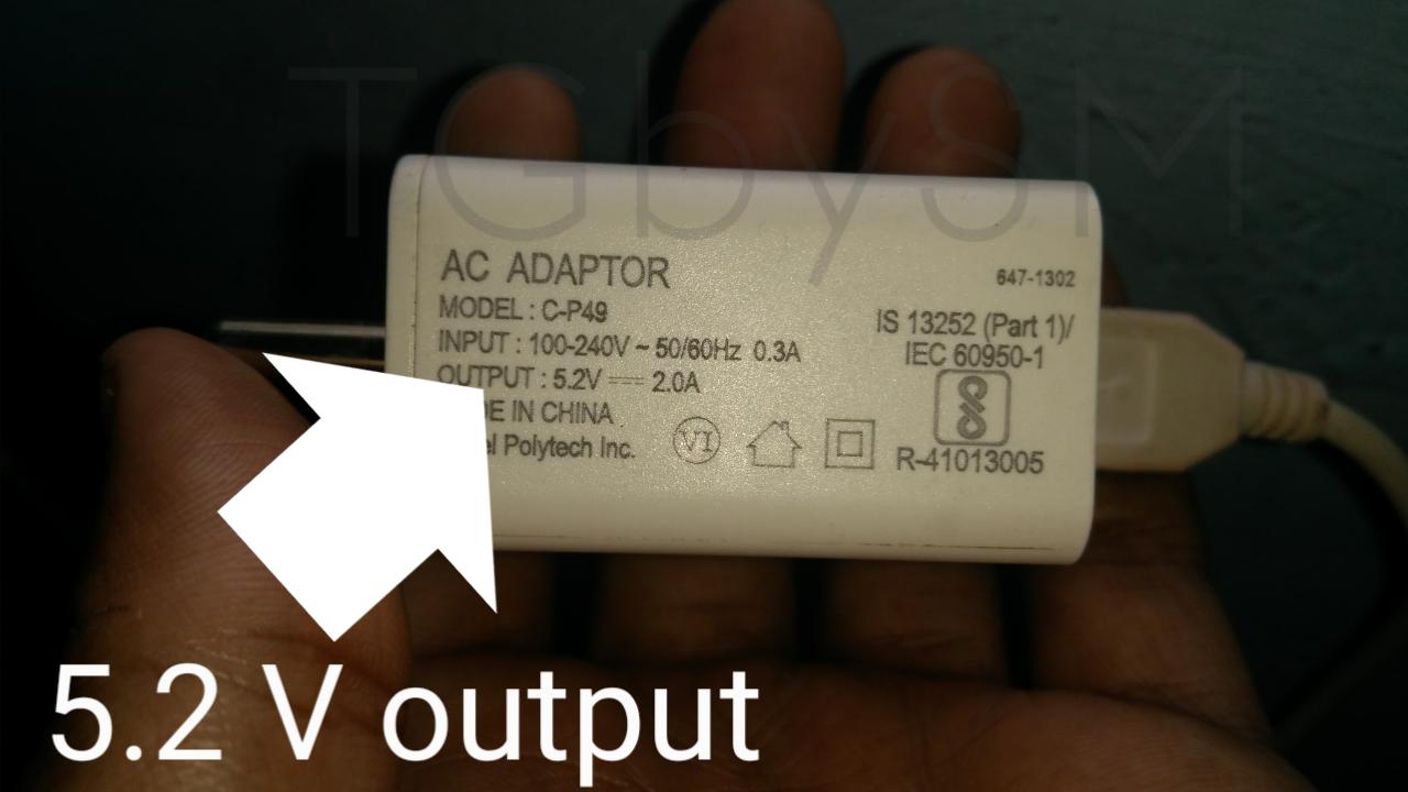 5V output Charger