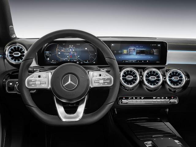 Mercedes Classe A 2019 - interior