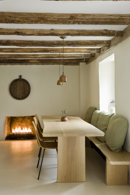 image result for timeless Belgian minimal kitchen in country house in Virginia