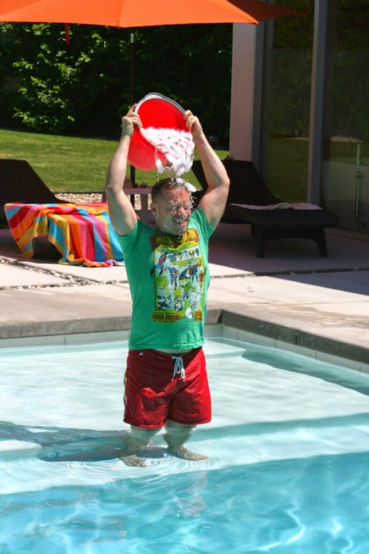 ALS Ice Bucket Challenge Palm Springs pool