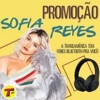 Promoção Transamérica Sofia Reyes Fones Ouvido Beats Bluetooth - Enviar Whatsapp