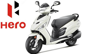 Hero Maestro Edge white scooter image