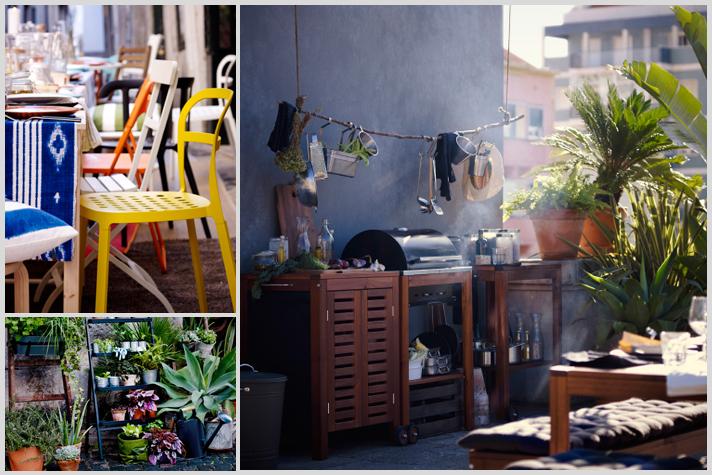 Terraza IKEA Inspiracion por catalogo