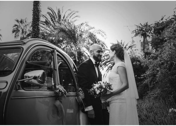 Si queréis ver más fotos de la boda de Teresa y Antoine, podéis visitar el blog de Algo nuevo, algo prestado, algo azul, un precioso post lleno de detalles