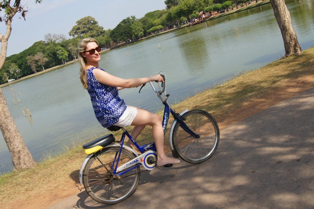 Wycieczka rowerowa po dawnej stolicy Tajlandii - Ayutthaya