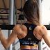 Vídeo - Elisa Pecini atleta Bikini IFBB executando exercícios para costas