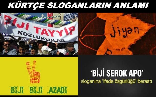 kürtçe slogan