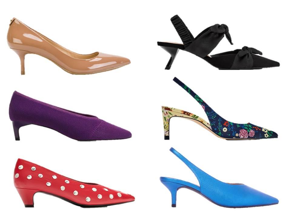 shopping de kitten heels; salto curto; lowprofile