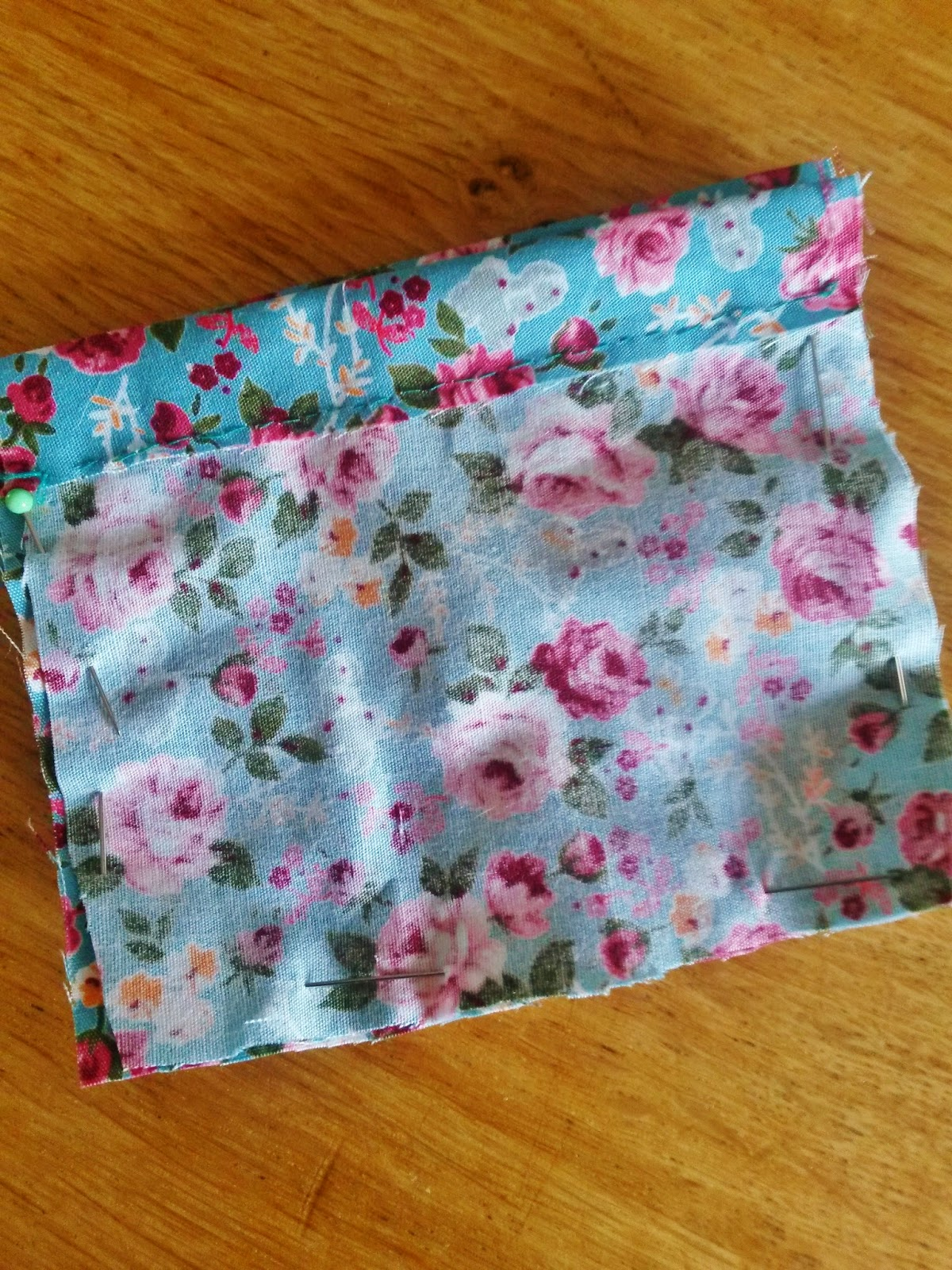 Sewing lavender bag