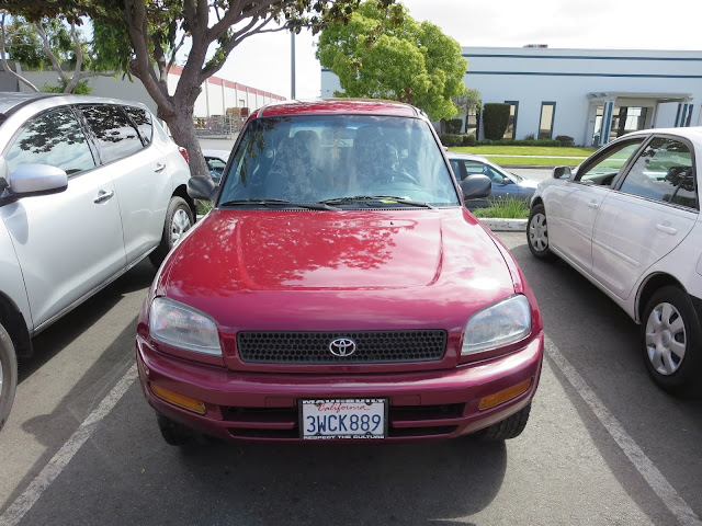 97 RAV4 with a complete paint job from Almost Everything Auto Body