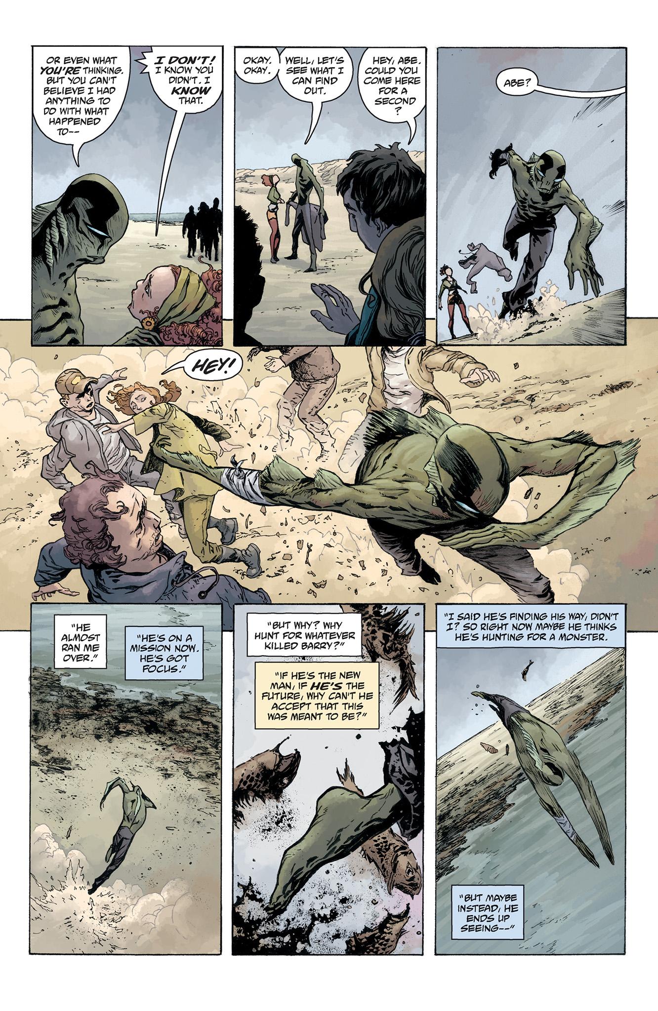 Read online Abe Sapien comic -  Issue #5 - 10