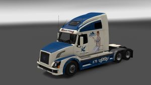 Avtolegend Skin for Volvo VNL 670